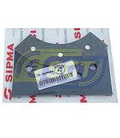 Притискна плитка гальмівного диска зовнішня для прес-підбирачі Sipma (Оригінал), фото 1
