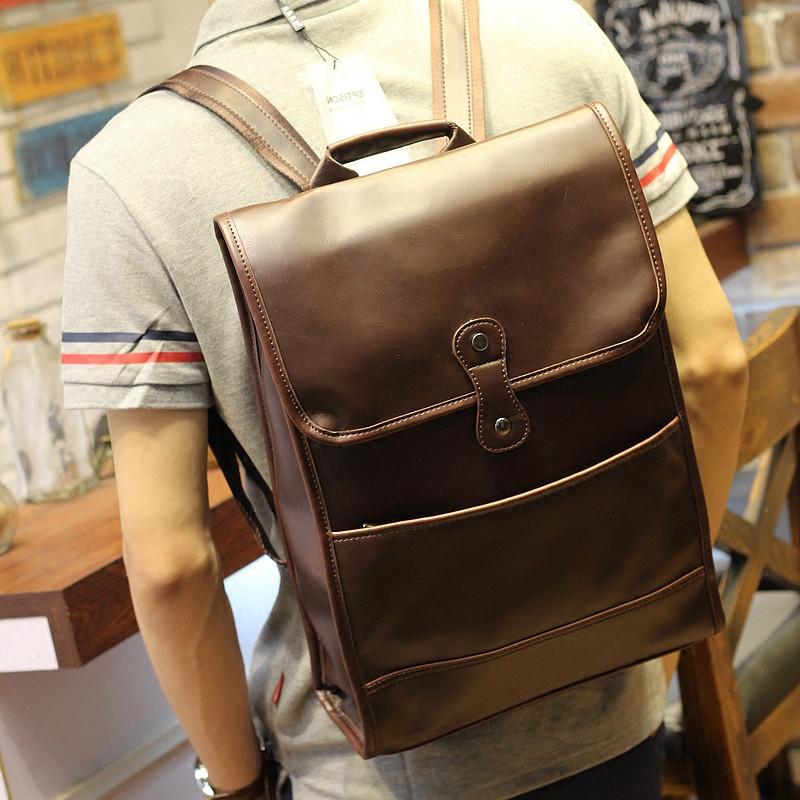 Мужская кожаная сумка. Модель 61358