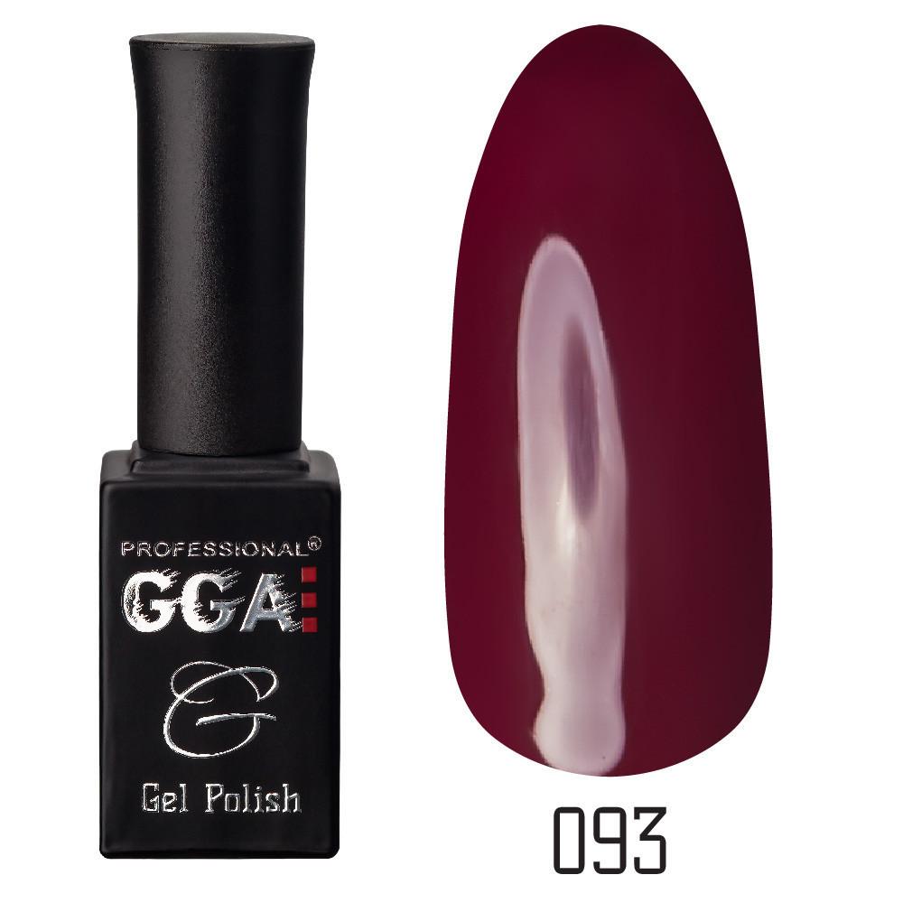 Гель-лак GGA №093 Falu Red 10 мл