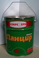 Эмаль-грунт для крыш Панцирь (11кг) КРАСНО-КОРИЧНЕВЫЙ, фото 1
