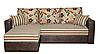 Угловой диван Мадрид №1 с широкими подлокотниками