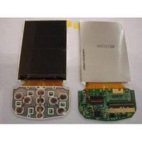 Дисплей (экран) для телефона Samsung D900 с верхним клавиатурным модулём Original
