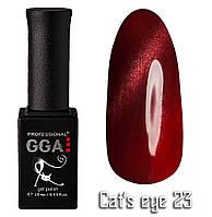 Гель лак GGA Professional Cat's Eye №23 10 мл, фото 1
