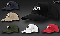 Кепка-бейсболка Levi's 501, Реплика