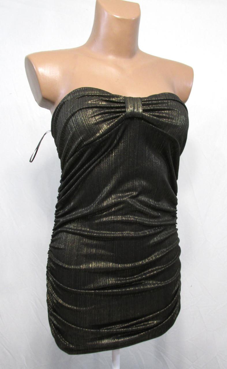 Платье мини Love Label, 36 (10), золотистое, Отл сост!