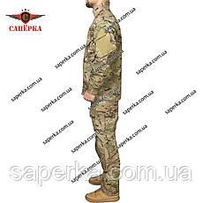 """Тактический костюм с наколенниками """"Гром"""" Multicam (тм БАРС), фото 3"""