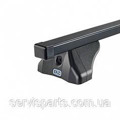 Багажник на интегрированные рейлинги крыши Fiat 500 Cross 2014-