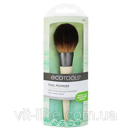 EcoTools, кисть для нанесення пудри, 1 шт., фото 2
