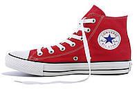 Кеды женские Converse All Star High KD-10750. Красные