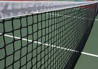 """Сетка для большого тенниса """"СТАНДАРТ"""" с тросом (Ø шнура - 3 мм)"""