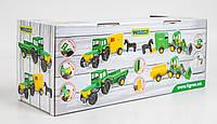 Трактор-Багги с ковшом и прицепом, ТМ Wader, 39349