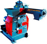 Дробилка ситовая МД-30/1000 (1000 кг/ч). Рубильная машина. Деревоизмельчитель