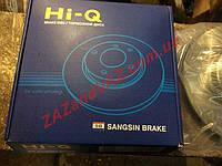 """Диск гальмівний Ланос 1.4,1.5 Lanos Сенс Sens 13 """" Hi-q Корея SD3004"""
