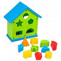 Развивающая игрушка -сортер Домик, 39351
