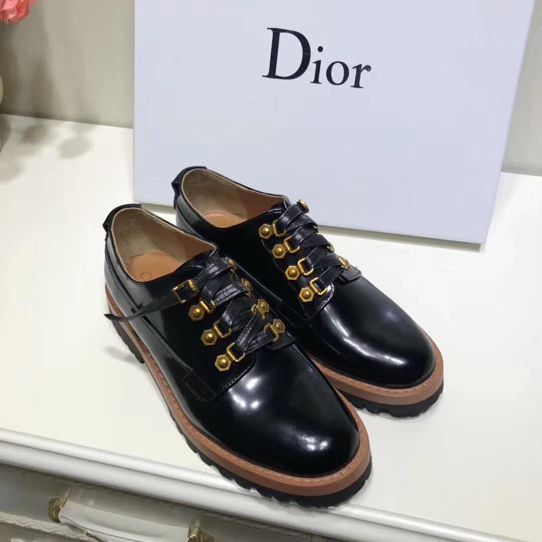 Туфли кожаные Dior Белый, 35 - Люкс реплики брендовых сумок, обуви в Киеве 5fa669de367