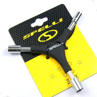 Мульти-ключ Spelli SBT-2715 (6 предметов)