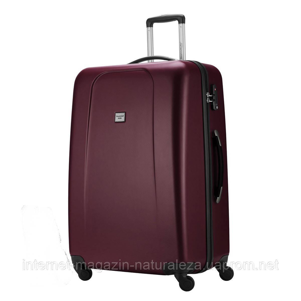 Большие чемоданы Hauptstadtkoffer maxi Wedding вишневый