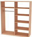 Шафа (шкаф) з ДСП/МДФ в спальню/вітальню/дитячу Лола 4Д Миро-Марк, фото 2