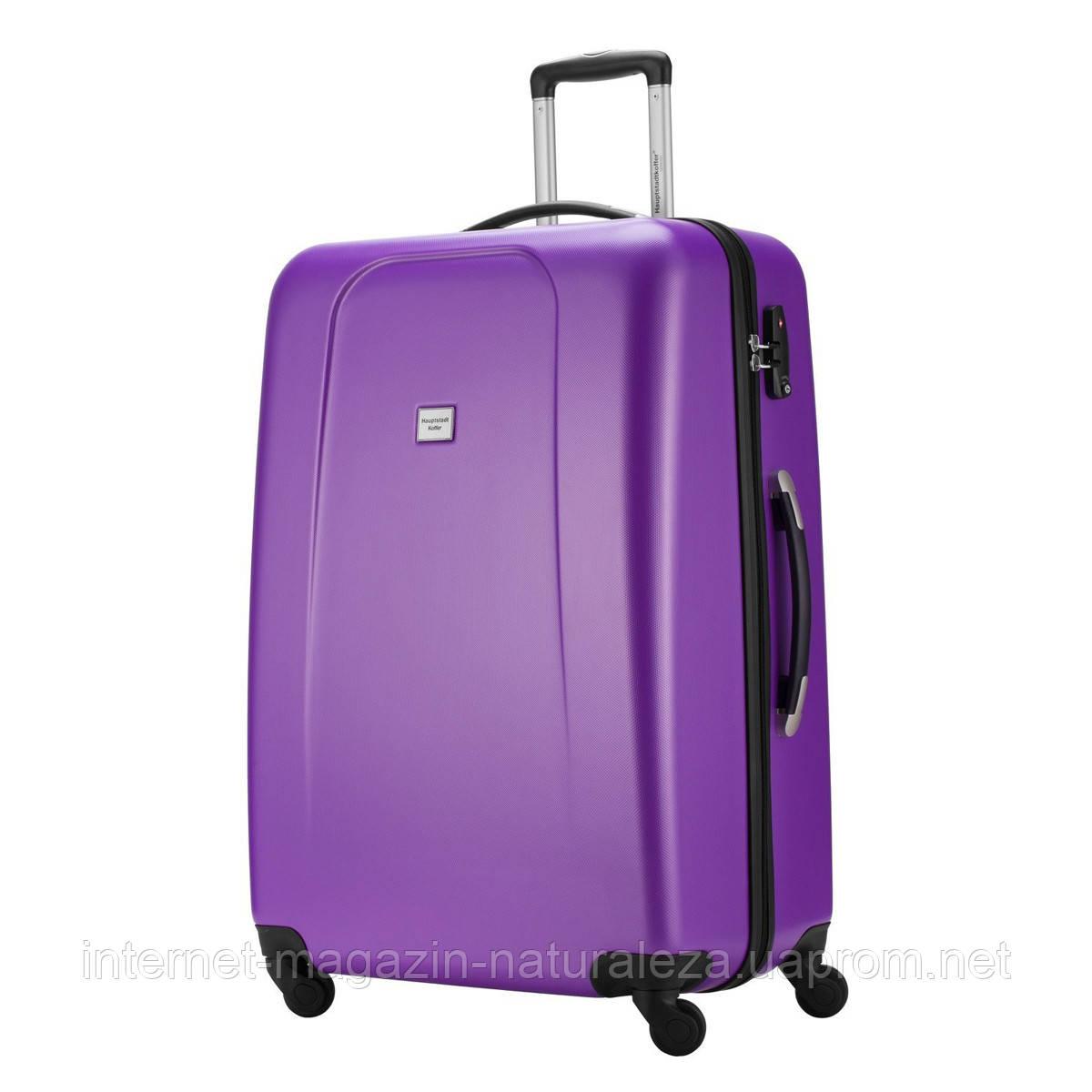 Большие чемоданы Hauptstadtkoffer maxi Wedding фиолетовый