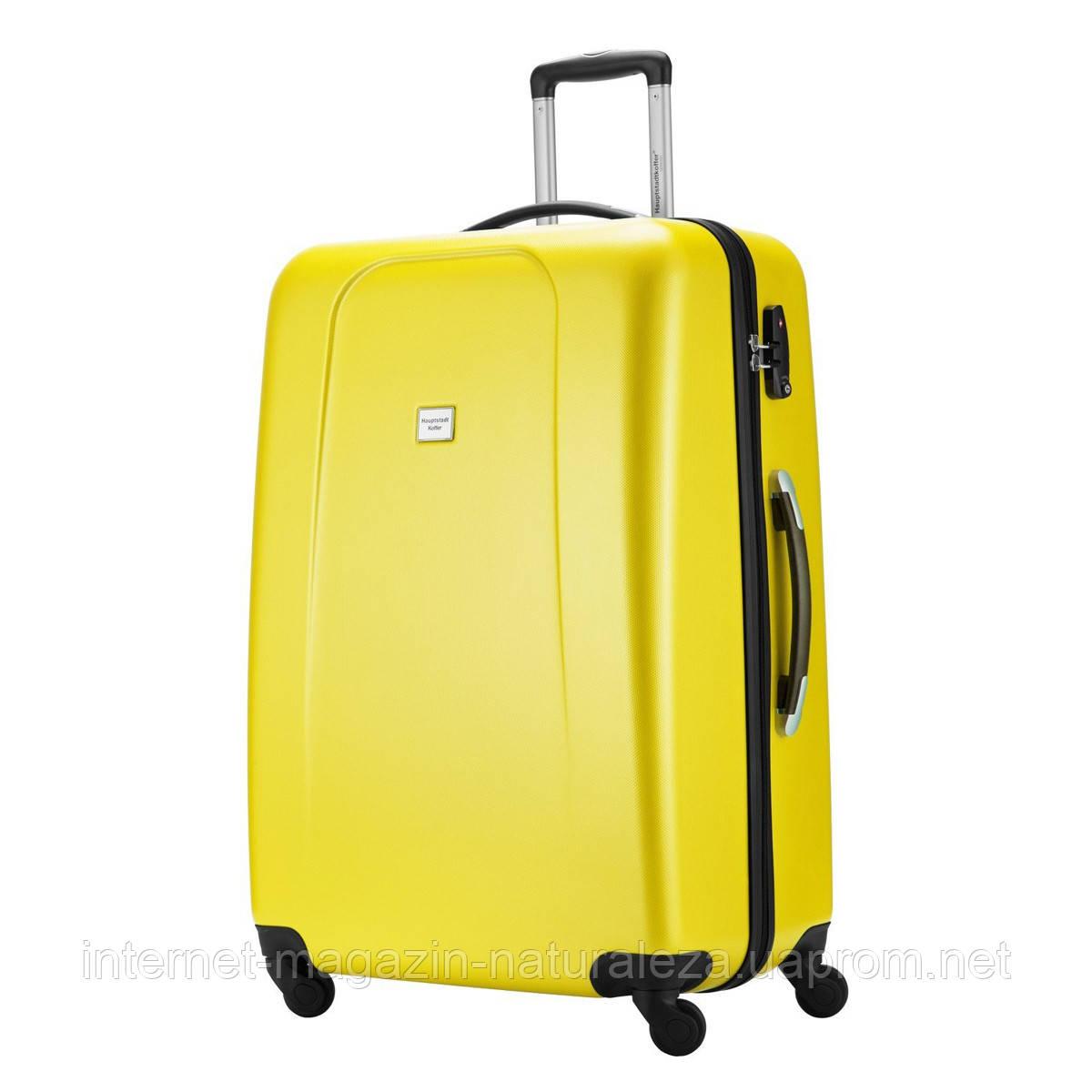 Большие чемоданы Hauptstadtkoffer maxi Wedding желтый