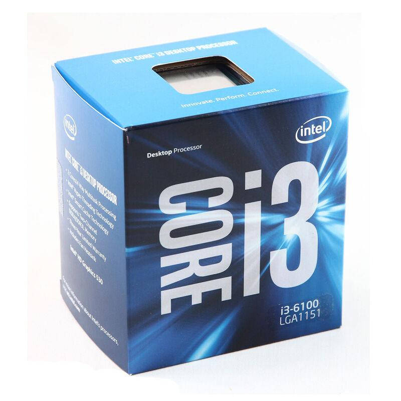 "Процессор Intel Core i3-6100 3.7GHz S.1151 BOX (BX80662I36100) ""Over-Stock"""