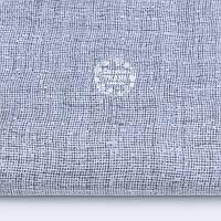 Ткань хлопковая с имитацией переплетения нитей, цвет серый, №1212