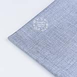 Ткань хлопковая с имитацией переплетения нитей, цвет серый, №1212, фото 4
