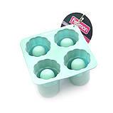 Форма для мороженого и льда Fissman (Силикон, 4 ячейки ), фото 2