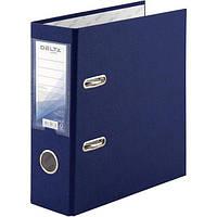 Папка-регистратор А5 с односторонним покрытием из полипропилена (РР). Качественная картонная обложка: 2,0 мм. Ширина корешка папки: 7,5см. Цвет: