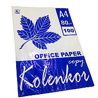 Бумага офисная А4 KOLENKOR (80g/m) 100 листов