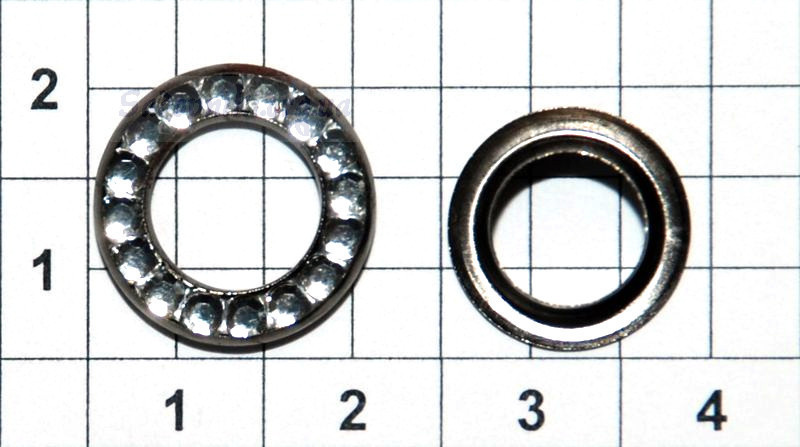 Люверс 600 со стразами диаметр 7 мм