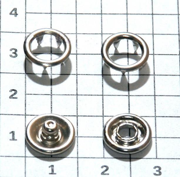 Кнопки Baby рубашечные 9.5мм 50 штук