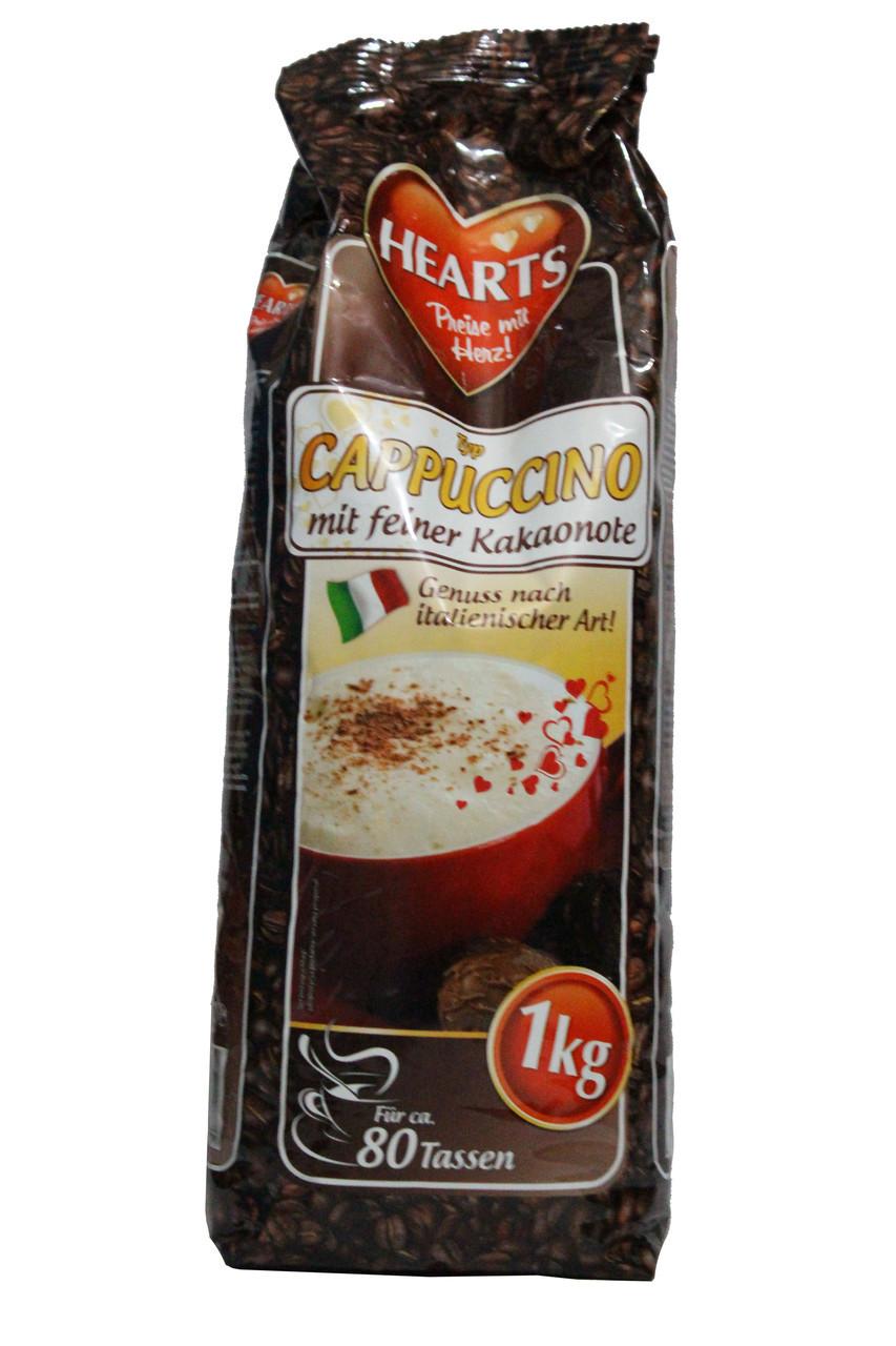 Капучино Hearts Cappuccino mit Feiner Kakaonote 1 кг.