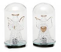 Елочная игрушка с подсветкой Ангел 7.5 см