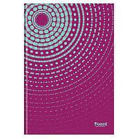 Книга записная в твердой обложке, серия Sun. Формат А4, 96 листов в клетку. Цвет: пурпурный.