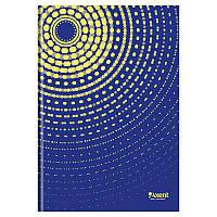 Книга записная в твердой обложке, серия Sun. Формат А4, 96 листов в клетку. Цвет: синий.