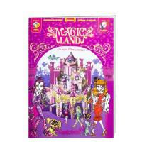"""Книга детская """"Книжка-играшка MAGIC LAND Замок Монстресс """" (Р), 832082"""