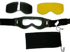 Тактические защитные очки