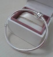 Браслет стиль PANDORA серебро 925 проба