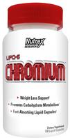 Пиколинат хрома, Nutrex, Lipo-6 Chromium, 100 caps,