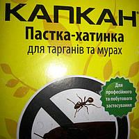 Капкан .Пастка -хатинка для тарганів та мурах.+