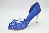Туфли женские золотистые на каблуке свадебные 1efbddc3c92ae