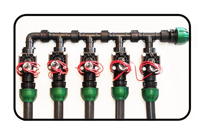 Клапаный бокс Jumbo Irritec электромагнитных клапанов