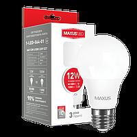 LED лампа Maxus 12w E27 4100K