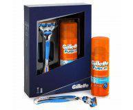 Набор для бритья Gillette Бритва Fusion+Гель для бритья Fusion Hydra gel 75 мл, 1 шт