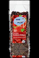 Органический фруктовый чай Das gesunde Plus Cranberry - Erdbeere, 200 гр.