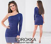 Облегающее стильное платье тренд трикотаж люрекс Производитель Одесса  Sorokka Balani Minova 42-44 05bc84a119a