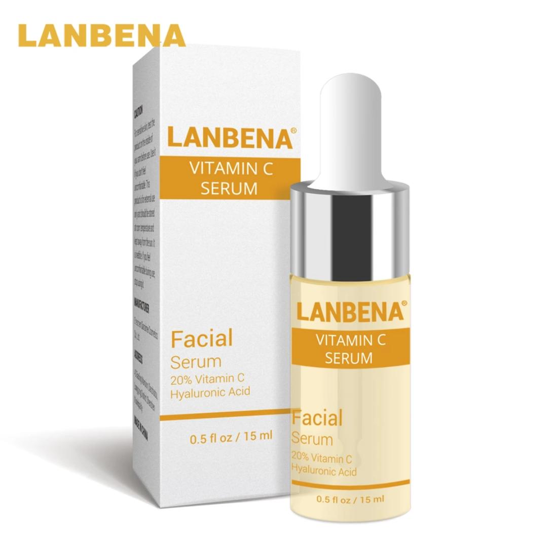 Концентрированная гиалуроновая кислота + витамин С, LANBENA 15 ml