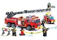 Конструктор Brick Пожарная часть
