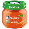 Овощное пюре Gerber Морковь с 6 месяцев (80 гр.)